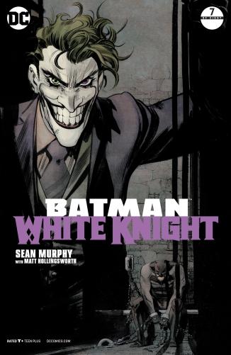 BATMAN WHITE KNIGHT #7