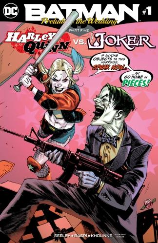 BATMAN PRELUDE TO THE WEDDING HARLEY VS JOKER #1