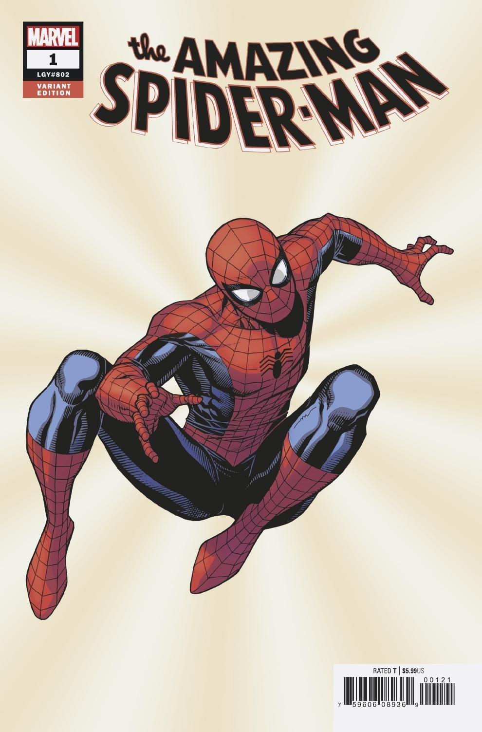 Amazing Spider-man #45 3rd Lizard-marvel comics Silver-age